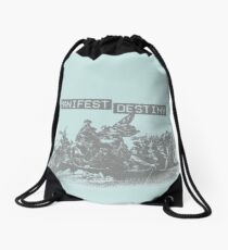 Manifest Destiny Drawstring Bag
