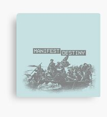 Manifest Destiny Canvas Print