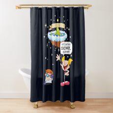 Dee Dee Explains Science Shower Curtain