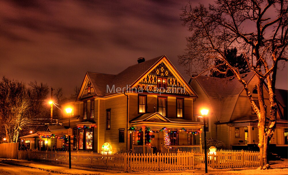Night Time Gingerbread  by Merlina Capalini