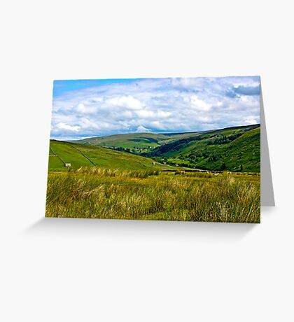 How Green is My Valley Greeting Card