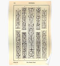 A Handbook Of Ornament With Three Hundred Plates Franz Sales Meyer 1896 0228 Supports Pilaster Panel Poster