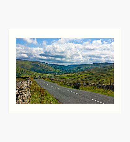 The Road to Muker  (Yorks Dales) Art Print