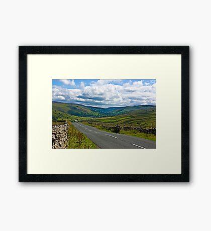The Road to Muker  (Yorks Dales) Framed Print