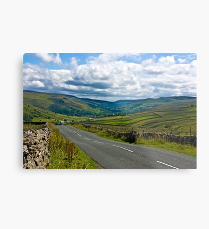 The Road to Muker  (Yorks Dales) Metal Print