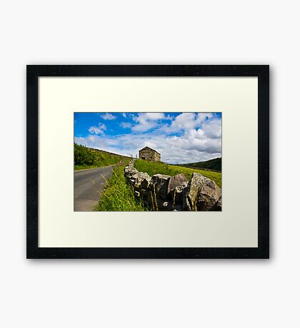 Along The Rural Road Framed Print