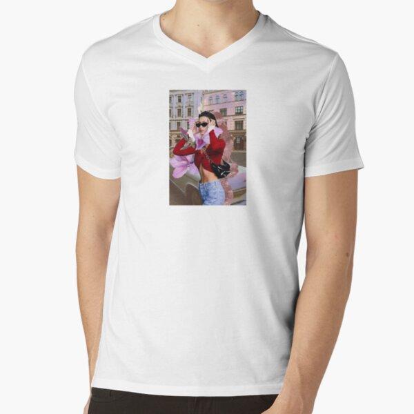 Bella Hadid V-Neck T-Shirt Unisex Tshirt