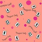 """Dragon Lady"" Mah Jongg - Version sechs von Susan Werby"