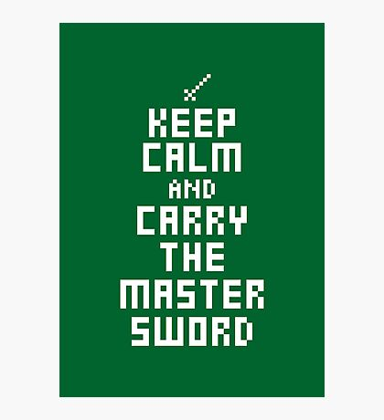 Keep Calm and Carry on Gaming7 Photographic Print