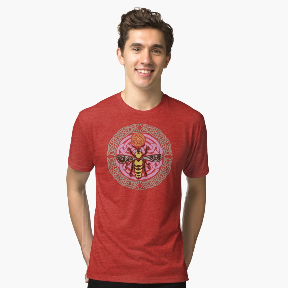 I am the Queen: of every hive Tri-blend T-Shirt