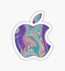 Holographic Apple Sticker