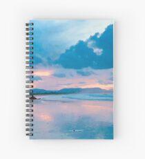 Kate Branch Creative- Sunset Spiral Notebook