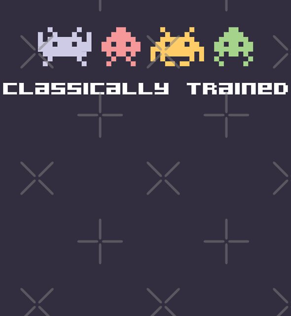 Classically Trained - 80s Video Games by DetourShirts