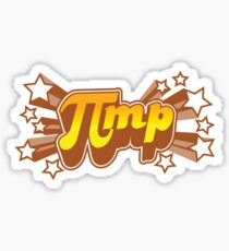 Pi mp - Pi+MP = Pimp Sticker