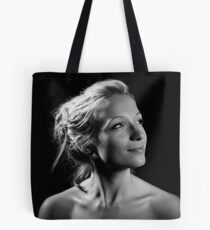 Portrait with one light! Tote Bag
