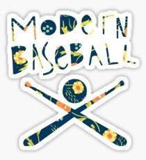 Modern Baseball Logo Sticker