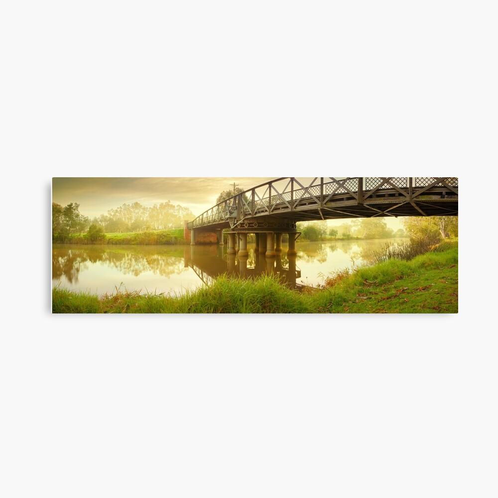 Sale Swing Bridge, Victoria, Australia Canvas Print
