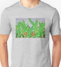 Thai leaves blowing in the Breeze. Unisex T-Shirt