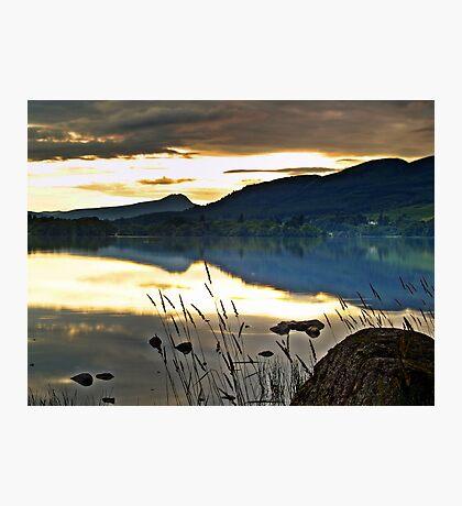 Lake Menteith, Scotland. Photographic Print
