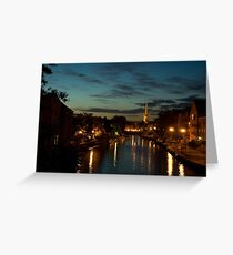 Norwich Riverside Greeting Card