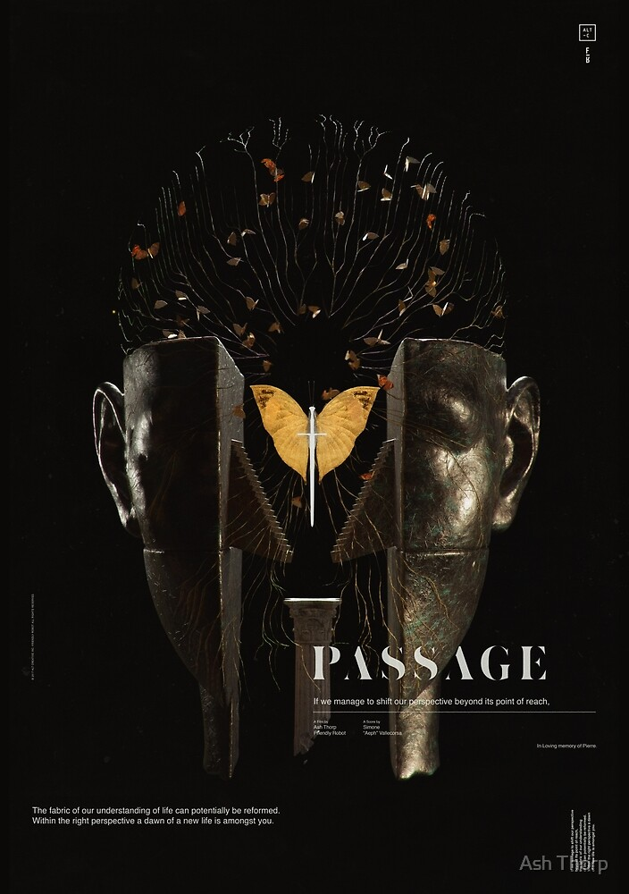 PASSAGE - The Surrealist Mirror by Ash Thorp