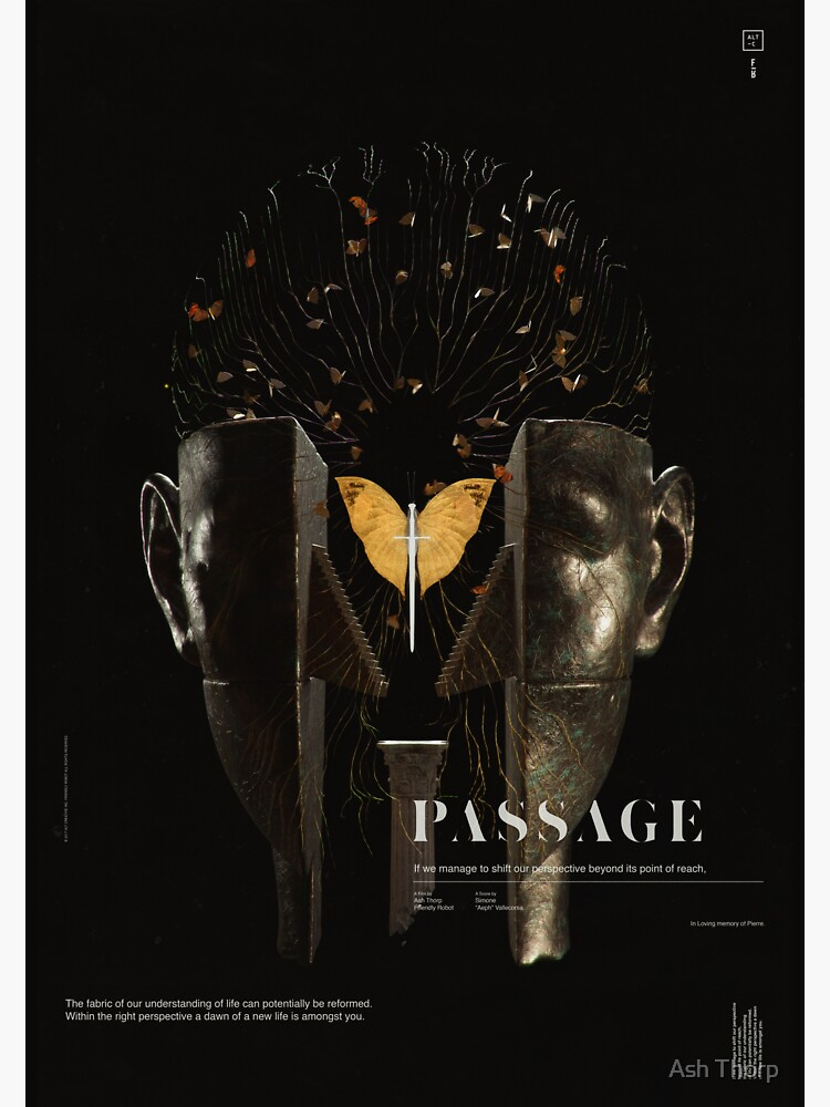PASSAGE - The Surrealist Mirror by ashthorp