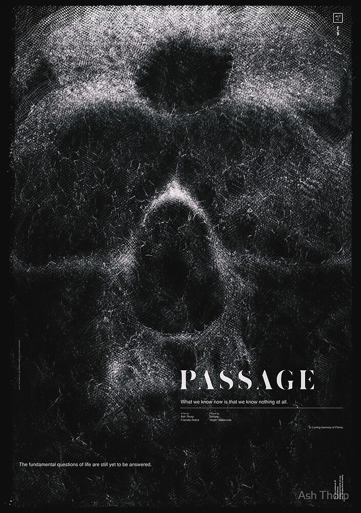 PASSAGE - The Digital Decay by Ash Thorp
