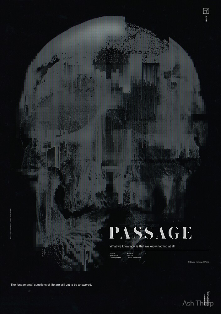PASSAGE - The Digital Demise by Ash Thorp