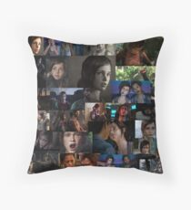 Ellie Collage Throw Pillow