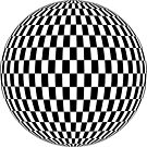 #sphere, #illustration, #design, #ball, shape, separation, circle, retro style, cartography, physical geography, square by znamenski