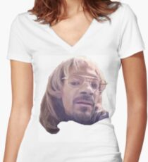Snoop dogg Todd Women's Fitted V-Neck T-Shirt