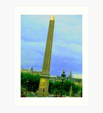 The Obelisk Art Print