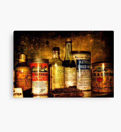 Cures Canvas Print