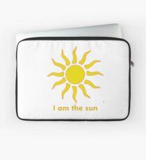 Ich bin die Sonne Laptoptasche