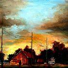 Burlington County Farm by Monica Vanzant