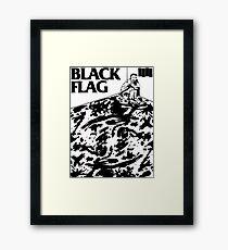 Black Flag - Six Pack Framed Print