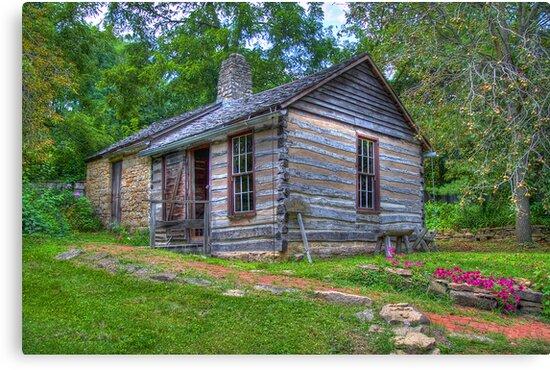 1830 Log Cabin by ECH52