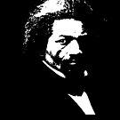 Frederick Douglass Black Geschichtsschmutz beunruhigter Blick von funnytshirtemp