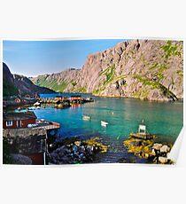 Lofots . My love Norway . Vestvagoy .2004. Views (261). by Brown Sugar. Poster