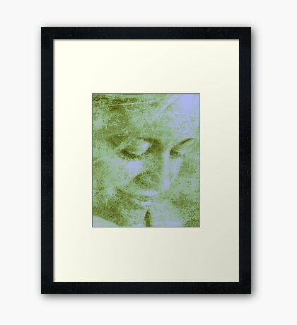 Love Persist Framed Print