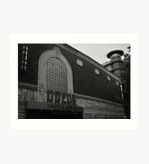Odeon Cinema Art Print