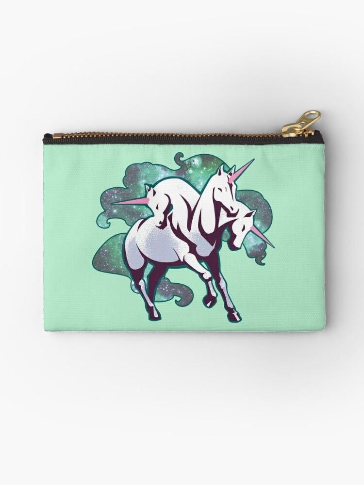 3 headed unicorn by WheelOfFortune