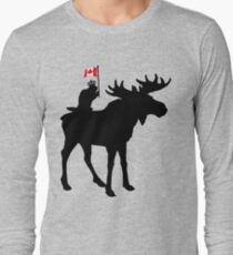 Oh Canada ! Long Sleeve T-Shirt