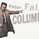 Columbo 70ties cool Cop von coolArtGermany