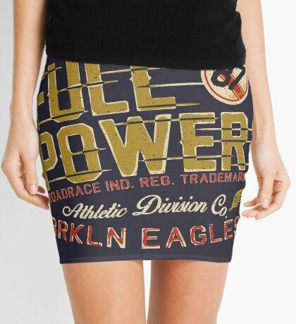 Full Power Brooklyn Eagles Mini Skirt