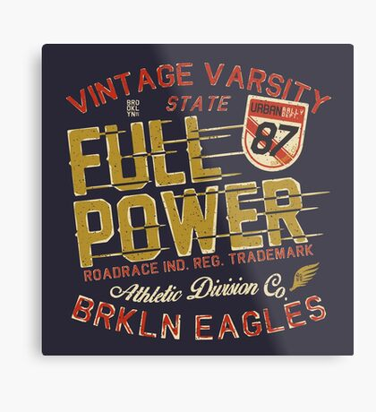Full Power Brooklyn Eagles Metal Print