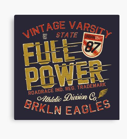 Full Power Brooklyn Eagles Canvas Print