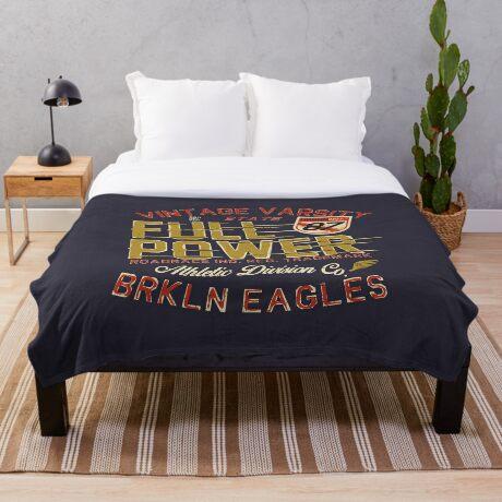 Full Power Brooklyn Eagles Throw Blanket