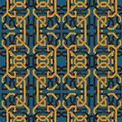 Alhambra Squares TWO by BigFatArts