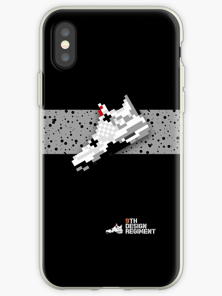 8-bit basketball shoe 4 for iPods, iPhone 4S and older models by 9thDesignRgmt